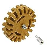 Disco di sgrassaggio pneumatico da 4 pollici alla ruota di gomma per la sgrossatura della gomma della ruota di smerigliatura della ruota di gomma
