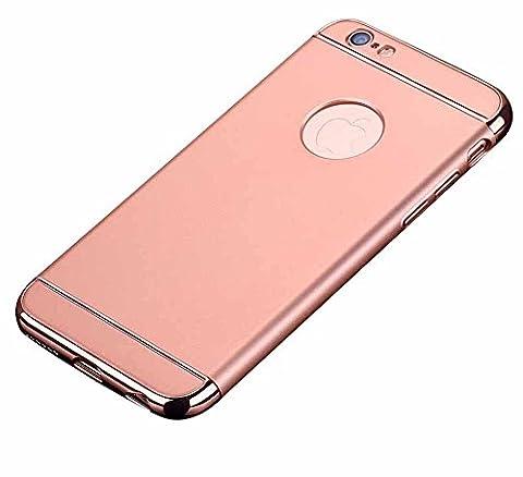 iPhone Hülle, Anti-Fingerabdruck Anti-Scratch Hülle Bumper Cover Case Schutz Tasche