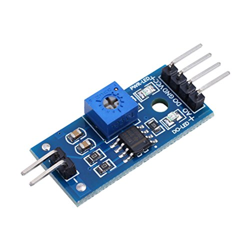 QLOUNI Bodenfeuchtesensor 5 Set Feuchtigkeitssensor Modul Kit Bodenfeuchtigkeitsmodul Automatisches Bewässerungssystem KY70 Bodenhygrometermodul für Arduino