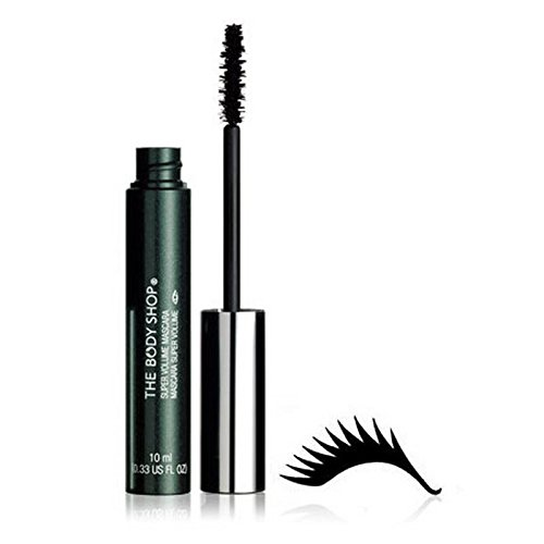 The Body Shop Super-Volumen Mascara Schwarz - 10Ml (Packung mit 6)