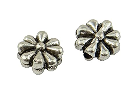 20pcs Large Flat Flower Spacer Beads (59004-216)