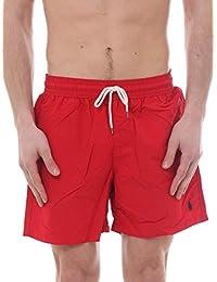 Polo Ralph Lauren Short de Bain pour Homme, Bain de Voyage, Couleurs Unies  avec 27294112e62a