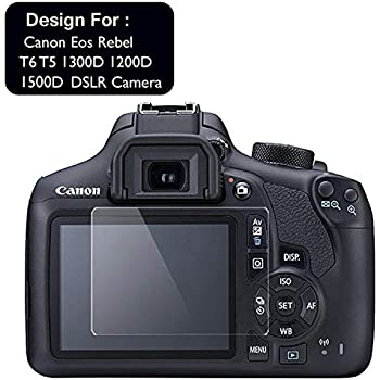 ACUTAS® Tempered Glass Screen Guard Protector for Canon EOS 1500D Digital SLR Camera