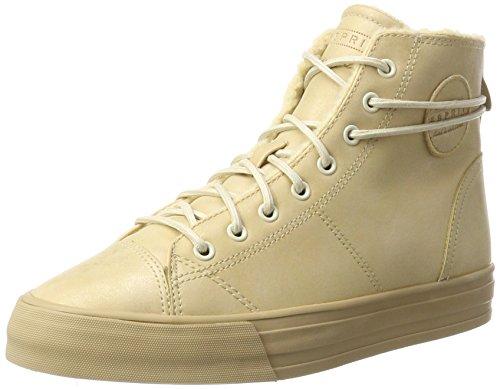ESPRIT Damen Simona Bootie Hohe Sneaker, Braun (Camel), 39 EU - Hohe Bootie
