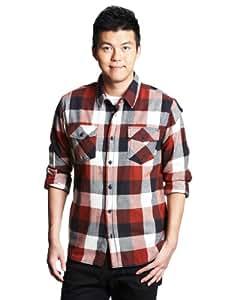 Herren Hemd lang Vans Box Flannel Shirt LS