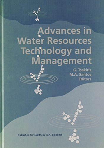Advances in Water Resources Technology and Management: Proceedings of the Second European Conference, Lisbon, Portugal, 14-18 June 1994