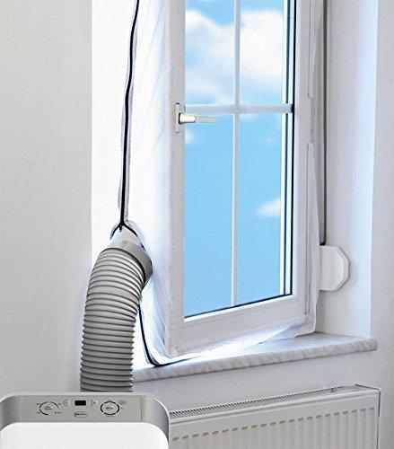 Mingran Sello de ventana AirLock para unidades de aire acondicionado móviles Parada de aire caliente...