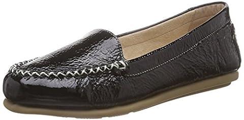 Caprice 24602, Mocassins (loafers) femme - Noir (black Patent 018), 40 EU