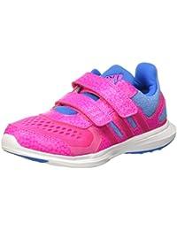 adidas Hyperfast 2.0 Cf K, Zapatillas de Running Unisex Bebé, Shock Red / Purple Glow / Ftwr White