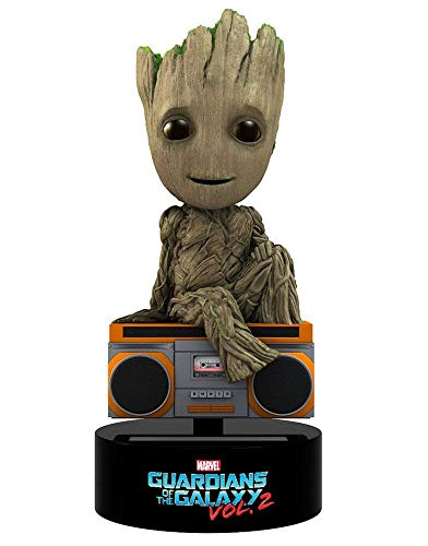 (Guardians of the Galaxy Marvel Comics - Head Knocker - Wackelkopf Figur Vol. 2 - Baby Groot - Retro Radio Musik)