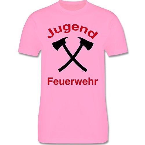 Feuerwehr - Jugend Feuerwehr - Herren Premium T-Shirt Rosa