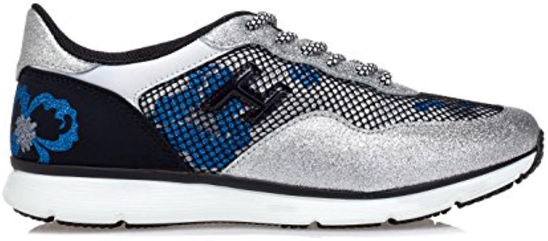 Hogan Mujer HXW2540X300FRN7964 Plata Cuero Zapatillas  Venta de calzado deportivo de moda en línea