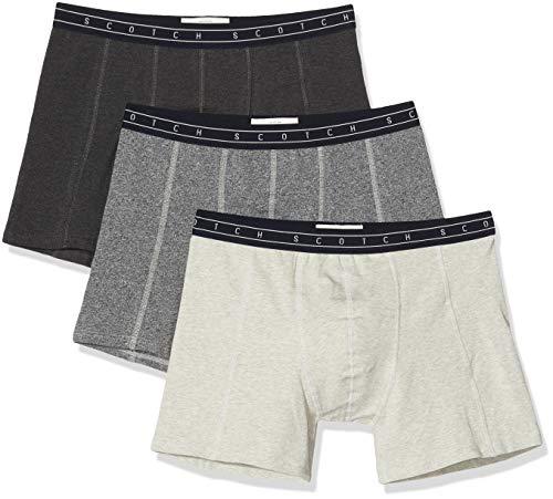 Scotch & Soda Herren Nos Underwear 3 Pack Boxershorts, Mehrfarbig (Combo O 0594), (Herstellergröße:M) (3er Pack)