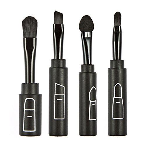 LianLe®4pcsx cosmétique brosse pinceaux de maquillage Brush