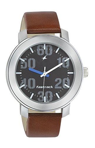 Fastrack Casual Analog Black Dial Men's Watch -NK3121SL01