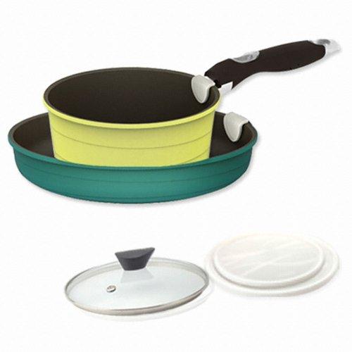 [NEOFLAM] Midas 5 Piece Cookware Set (21226970) cook ware kitchen item