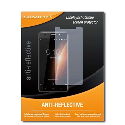 SWIDO Schutzfolie für Blackview R6 Lite [2 Stück] Anti-Reflex MATT Entspiegelnd, Hoher Härtegrad, Schutz vor Kratzer/Displayschutz, Displayschutzfolie, Panzerglas-Folie