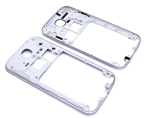 Samsung Galaxy S4 i9500 i9505 LTE Mittelrahmen Bezel Mittel Cover Middle Frame Gehäuse Schale inkl Volume Taste Power Taste Handywest Vesand Bezel Frame Cover