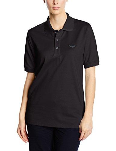 Trigema Trigema Mädchen Polo-shirt Piqué-qualität-Polo Donna Nero