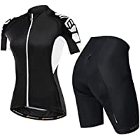 Nuckily Women s Short Sleeve Cycling Jersey Jacket Cycling Shirt Quick Dry  Breathable Mountain Clothing Bike 1bed19f72