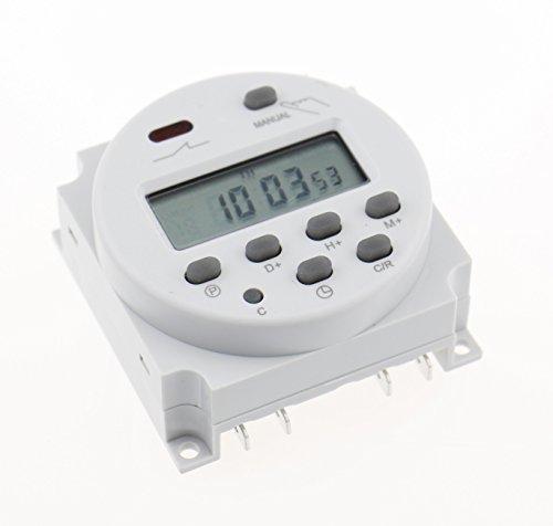 Vktech LCD Digital Programmierbar Timer Microcomputer Zeitschaltuhr DC 12V - 12v Ac Timer Relais