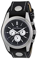 Reloj Tom Tailor 5409402 de cuarzo para hombre con correa de acero inoxidable, color negro de Tom Tailor