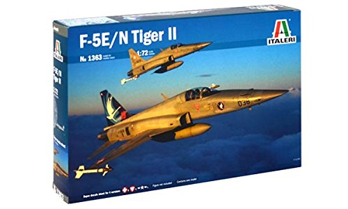 Italeri 510001363 - Luftfahrt - 1:72 F-5 E/N Tiger II Suisse Special