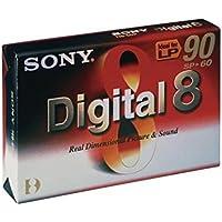 Sony Digital8 Tape Video сassette 60min - Cinta de Audio/Video (60 min)