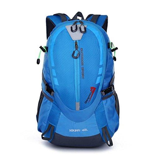 Wmshpeds Borsa a tracolla femmina versione coreana di questa ondata di uomini moda borse Sport Tempo libero zaino borse da viaggio outdoor sacco di alpinismo D