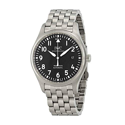 IWC Mark XVIII Black Dial Automatic Men's Stainless Steel Watch IW327015