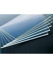 Bigmall Acrylic Sheet 2Mm Clear Transparent Plexiglass 12 Inch X 12 Inch Pack Of 1