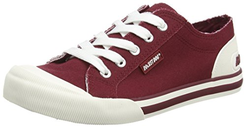 Rocket Dog JAZZIN Damen Sneakers Violett (BURGUNDY NDS)
