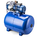 BuoQua MC-1500 Kreiselpumpe 100L Edelstahl Kreiselpumpe Jetpumpe Gartenpumpe 220V Hauswasserwerk