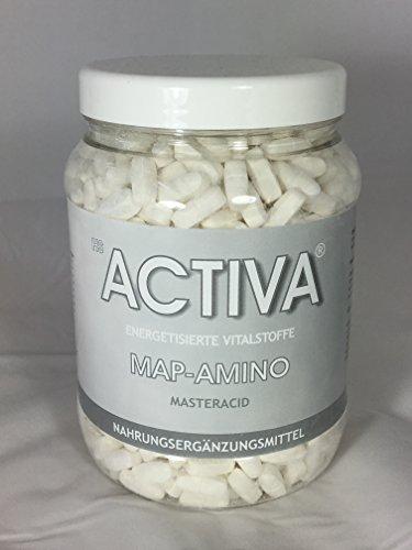 MAP-Amino :: 1000 Presslinge á 1,1 g :: essentielle Aminosäuren :: vegan :: hochwertigstes Eiweiß :: beste Bio-Verfügbarkeit