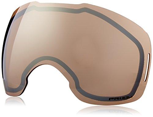 Oakley Prizm Negro Iridium REPL. Lente Airbrake XL ventilación Doble Lentes de los anteojos de la Nieve