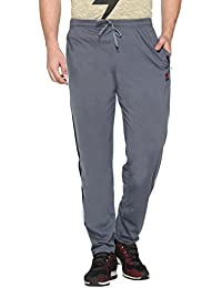 CUPID Striped Stylish Track Pants / Cotton Lowers / Sports Trousers / Night Pant / Joggers (Regular Fit, GRAY...