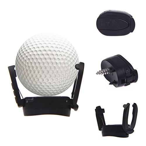 Energystation Golfball Pick Up Retriever Schwarz Greifer Putter, Mini Golf Ball Pick up Zurück Werkzeug, Professiona Grip Grabber, Golf Ball Ballrückholer, Golf Zubehör (schwarz)