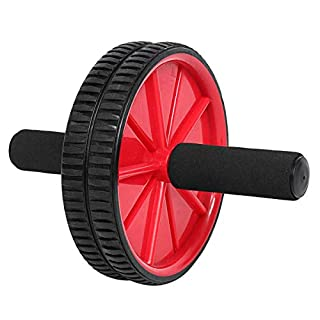 Body Fitness Dual Wheel Abdominal Training Roller Home Gym Arm Waist Exerciser Gym Exercise Tools