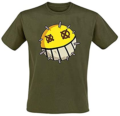 Overwatch Junkrat Icon Camiseta Verde XL