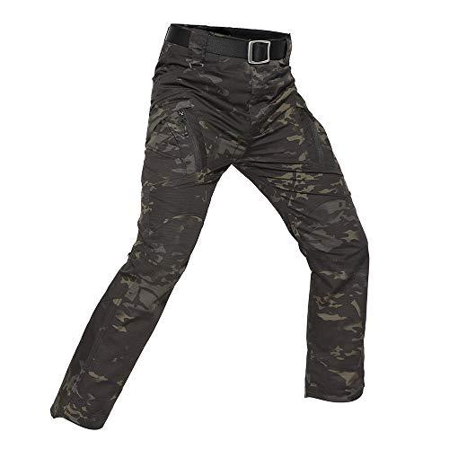 Manadlian Herren Straight Jeans 514 Beiläufig Taktisch Militär Armee Kampf Draußen Arbeit Hose Ladung Hose