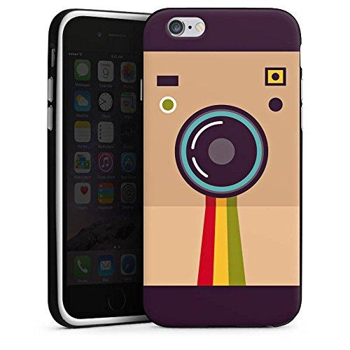 Apple iPhone X Silikon Hülle Case Schutzhülle Kamera Foto Fotograf Silikon Case schwarz / weiß