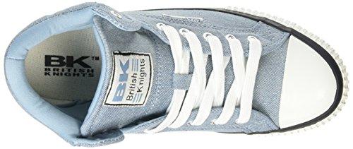 British Knights Dee, Baskets hautes femme Bleu - Blau (Lt Blue 02)
