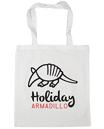 hippowarehouse-holiday-armadillo-tote-shopping-gym-beach-bag-42cm-x38cm-10-litres