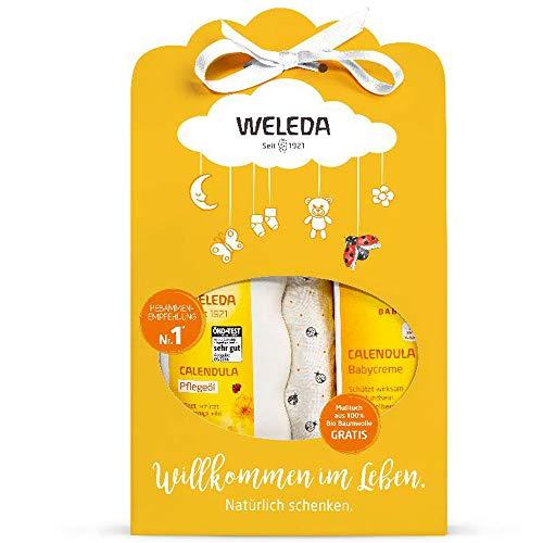 Weleda: Calendula - Baby Set Pflegeöl + Babycreme