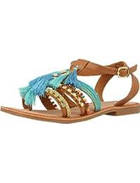 4fdc79c2e30 Amazon.es  Piel - Sandalias y chanclas   Zapatos para mujer  Zapatos ...