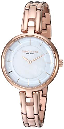 Kenneth Cole New York Women's Analog Quartz Watch with Stainless-Steel Strap KC50203002