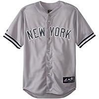 Majestic MLB New York Yankees Away Replica Jersey, Grau