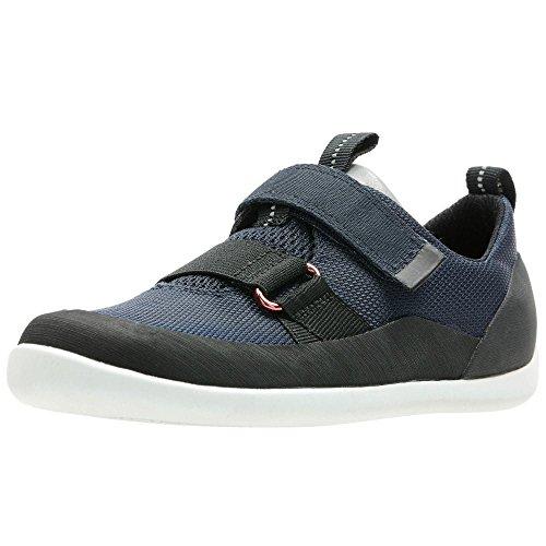 Clarks, Chaussures Basses pour Garçon - Bleu - Bleu, 30 G EU