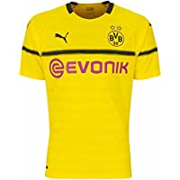 Puma Herren BVB Cup Shirt Replica with Evonik Logo Without Opel Trikot