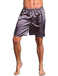 TEBAISE Unterwäsche Herren Boxershorts Boxer Shorts Bermuda Kurze Übergröße  Bequeme Stoffhose Strandhosen Boardshorts Schwimmhose 8ccaa16388
